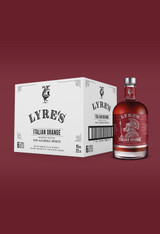 Italian Orange Non-Alcoholic Spirit - Campari | Lyre's Case of 6