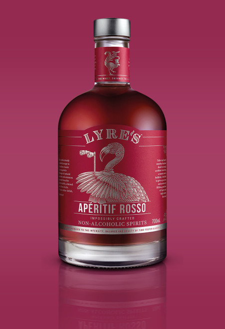 Aperitif Rosso Non-Alcoholic Spirit - Sweet Vermouth | Lyre's