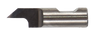 Oscillating Blade Solid Carbide - 6mm Round Shank - 3.5 CED/50° x 3mm Radius. Single Edge Blade 25mm Overall Length - 3.50mm Depth of Cut