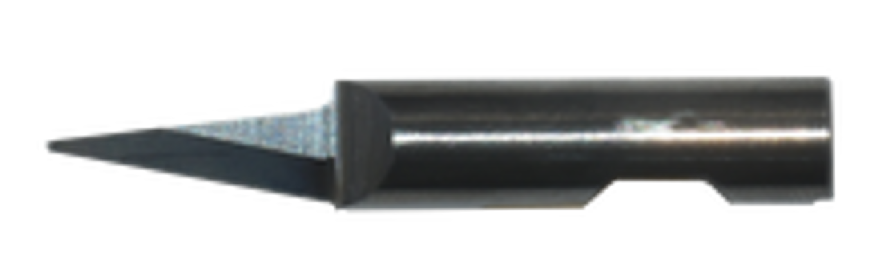 Oscillating Blade K2 Solid Carbide-6MM Round Shank-6MM Cut Length Round Point. Blade tip is at center of rotation. 36MM Overall Length. Oscillating Blade. Fits KH6 Holder
