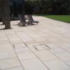 Yellow Granite Paving In situ2
