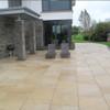 Yellow Granite Paving In situ3