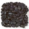 Black Polished Pebbles Wet