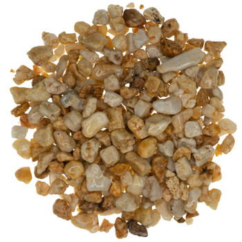 Barleycorn Quartz Pebbles Wet