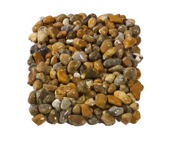 Rounded Flint Pebbles Wet