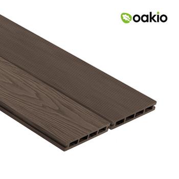 Oakio Composite Decking - Dark Brown