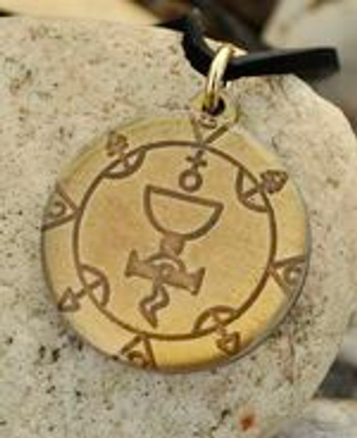 Cabbalistic Pentacle of a Queen Amulet