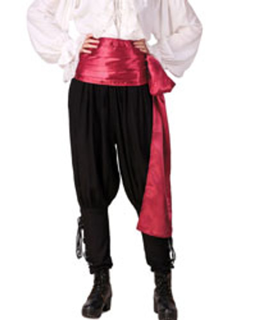 Satin Pirate Waist Sash