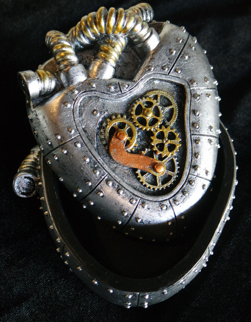 Steampunk Heart Box