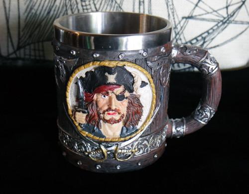Pirate Skull Tankard Mug