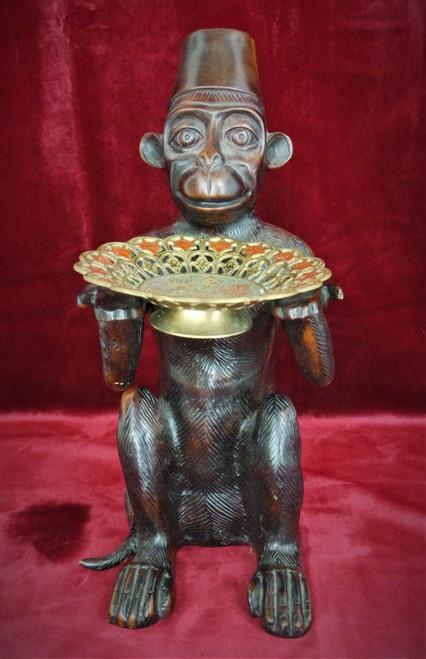 Bronze Bellhop Monkey