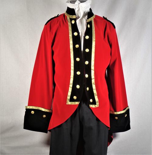 Velvet Regency Coat w/ Liber