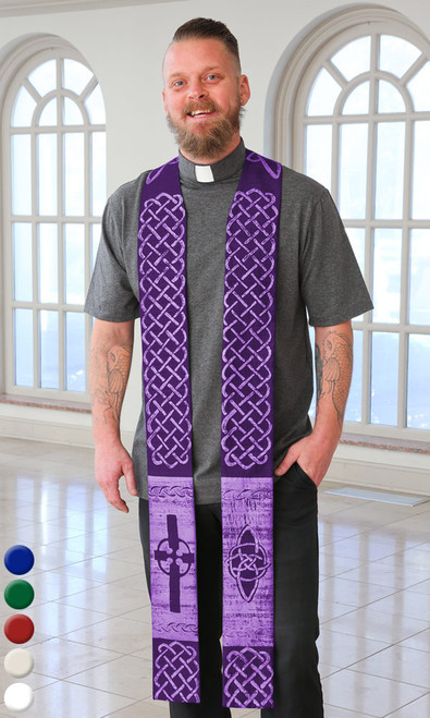 Celtic Stole (Pastor or Deacon)