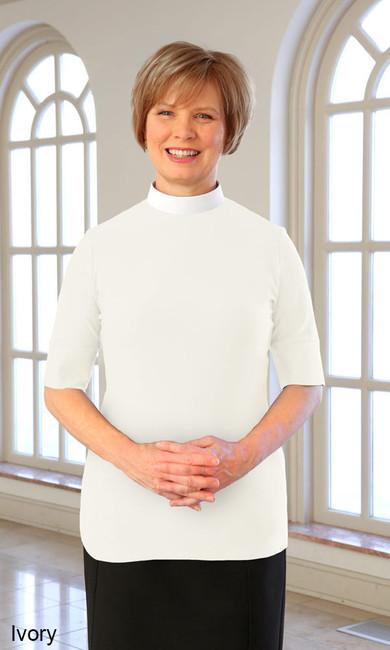 Short Sleeve Knit Shirt (Neckband)