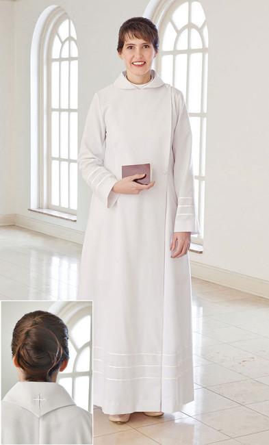 Lydia with V-Collar Custom Robe