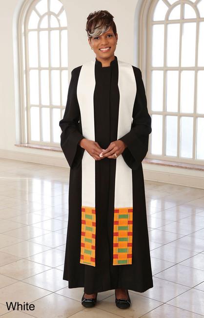 Kente Clergy Stole (Pastor)