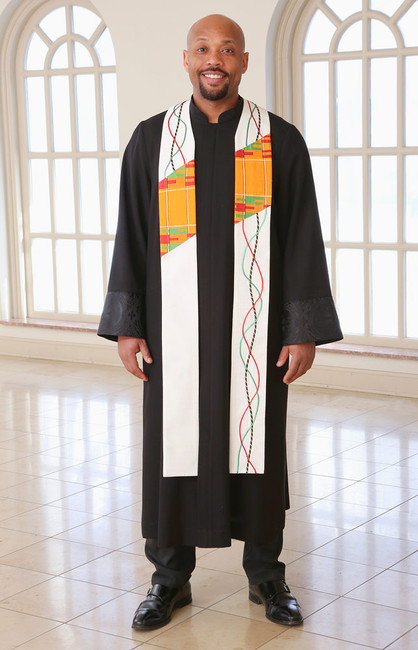 African River of Life Stole (Pastor or Deacon)