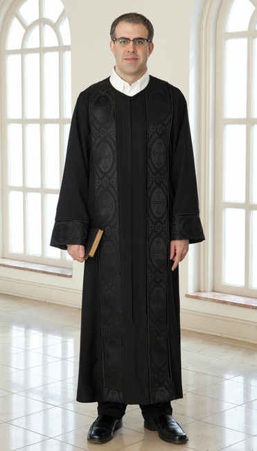 Paul with Brocade (X-Large/Lined/Black) 33/50