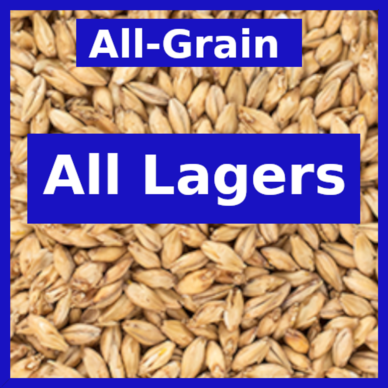 All Lagers - All Grain