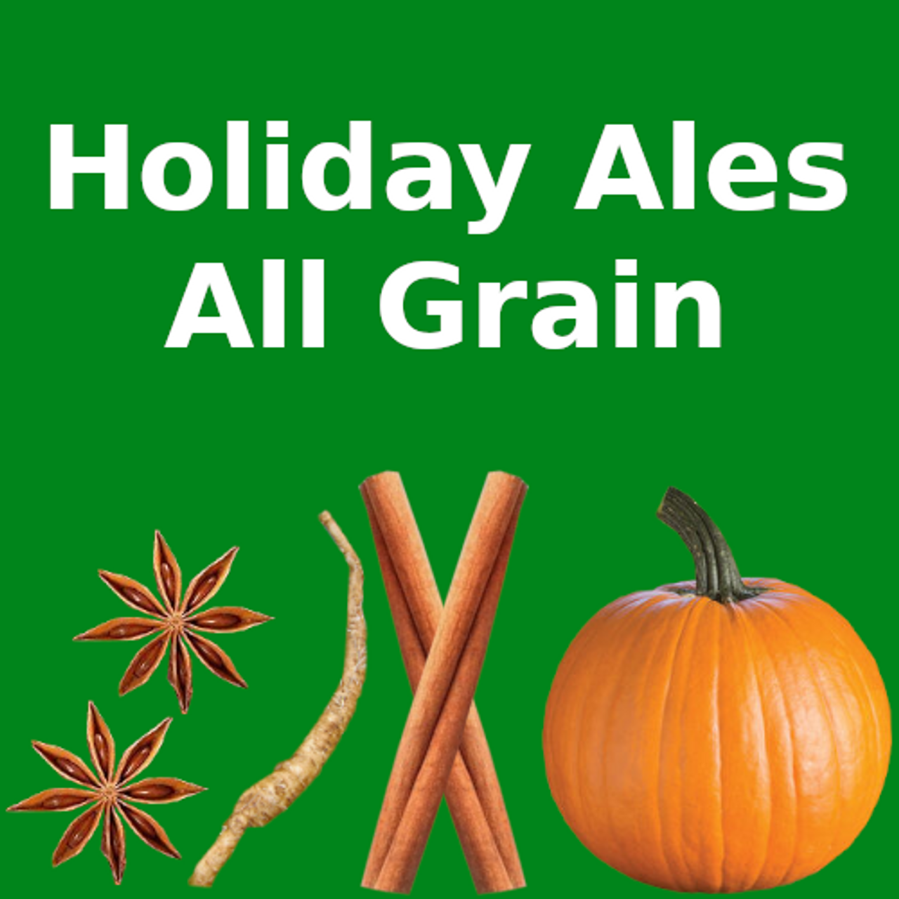 Holiday Ales - All Grain