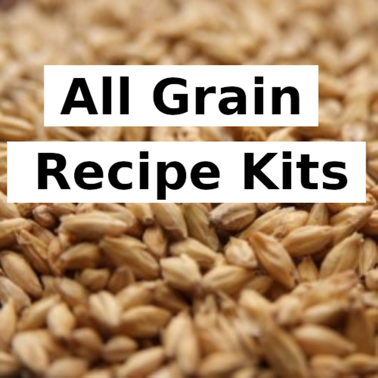 All Grain Recipe Kits