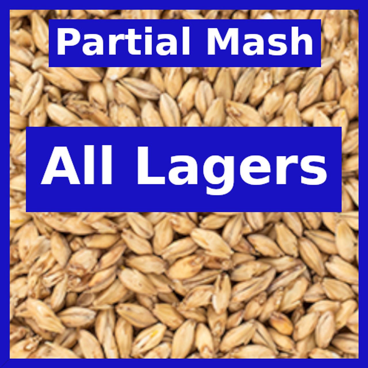 All Lagers - Partial Mash
