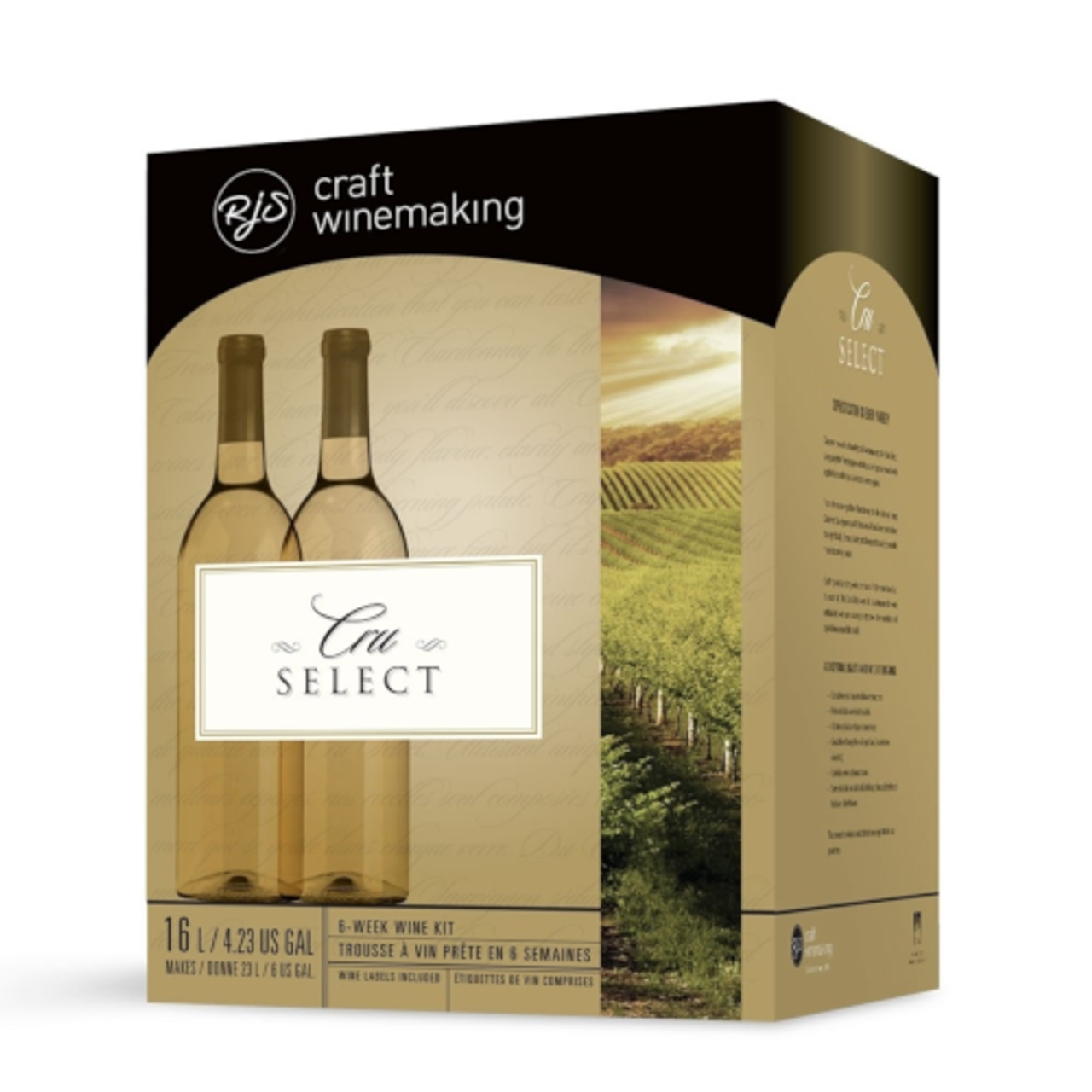 RJS Cru Select Wine Kits