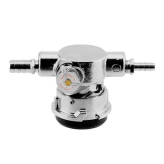 Low Profile D System American Sankey Coupler - Stainless Steel