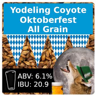 Yodeling Coyote Oktoberfest All Grain Recipe Kit