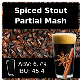 SoCo Spiced Stout Partial Mash Recipe Kit