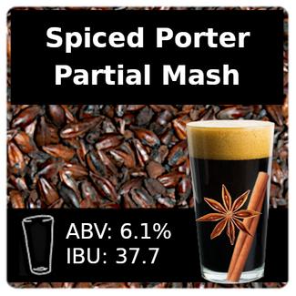 SoCo Spiced Porter Partial Mash Recipe Kit