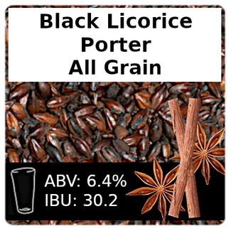 SoCo Black Licorice Porter Partial Mash Recipe Kit