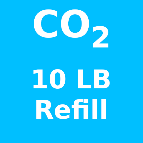 CO2 Refill For 10 LB Cylinder (In-Store Only)