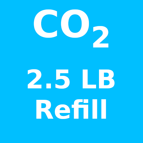 CO2 Refill For 2.5 LB Cylinder (In-Store Only)