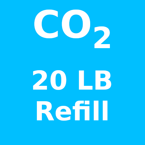 CO2 Refill For 20 LB Cylinder (In-Store Only)
