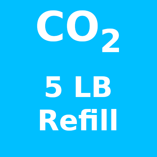 CO2 Refill For 5 LB Cylinder (In-Store Only)