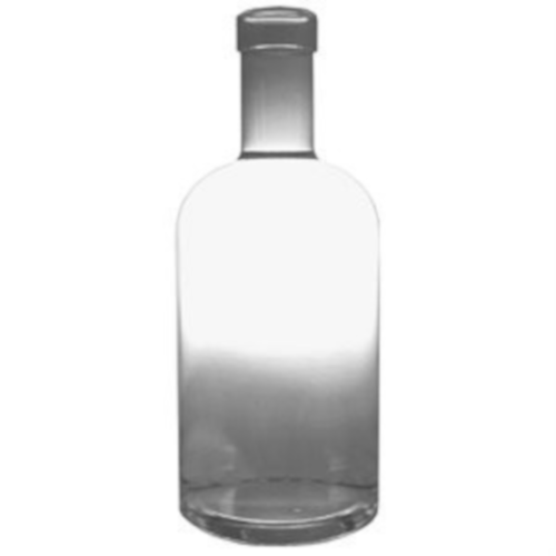 750 ML FLINT OREGON DESIGN SPIRIT BOTTLE