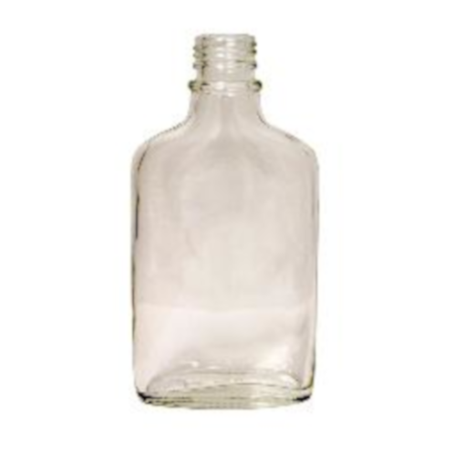 Glass Flask - 200 ml Clear