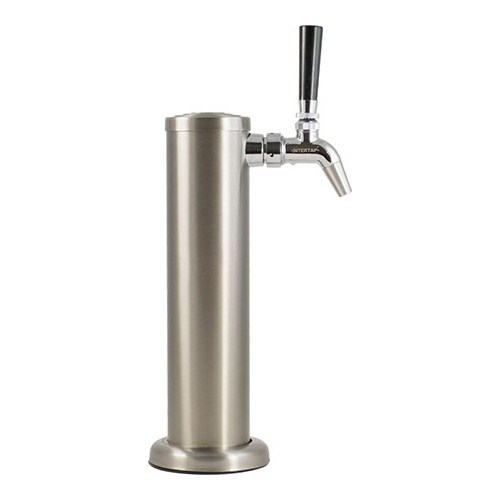 KOMOS® Stainless Draft Tower With Intertap Faucets - 1 Faucet