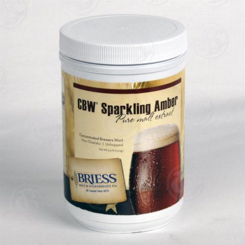 LME - Briess Sparkling Amber Liquid Malt Extract - 3.3 LB