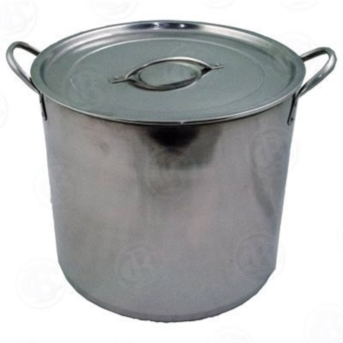 Stainless Steel Brewing Pot - 20 qt (5 Gallon)