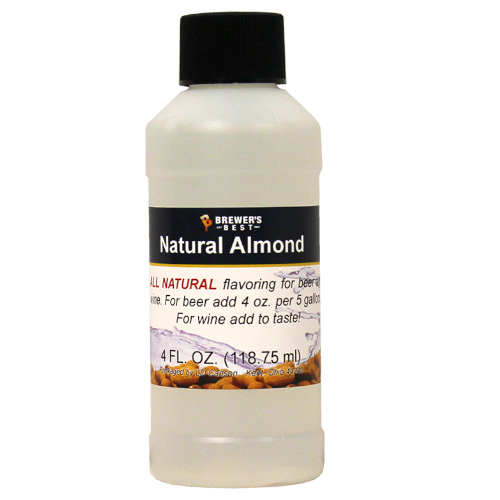 Natural Almond Flavoring Extract - 4 oz