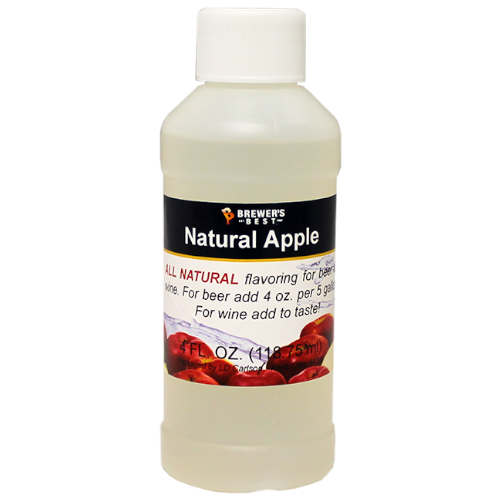 Natural Apple Flavoring - 4 oz