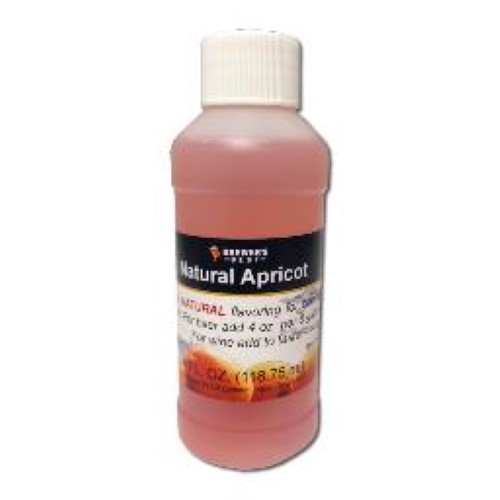Natural Apricot Flavoring - 4 oz