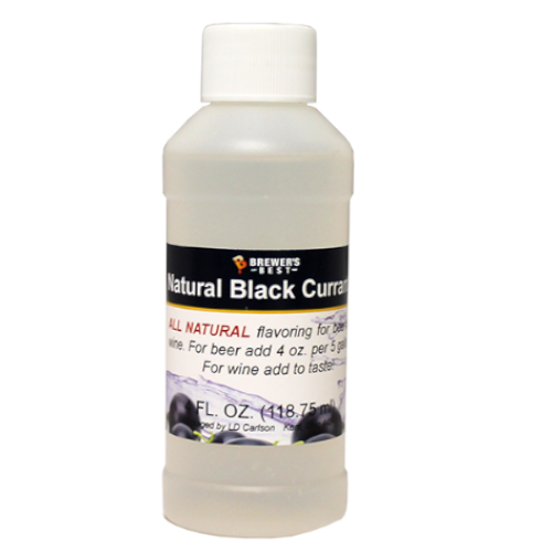 Natural Black Currant Flavoring - 4 oz