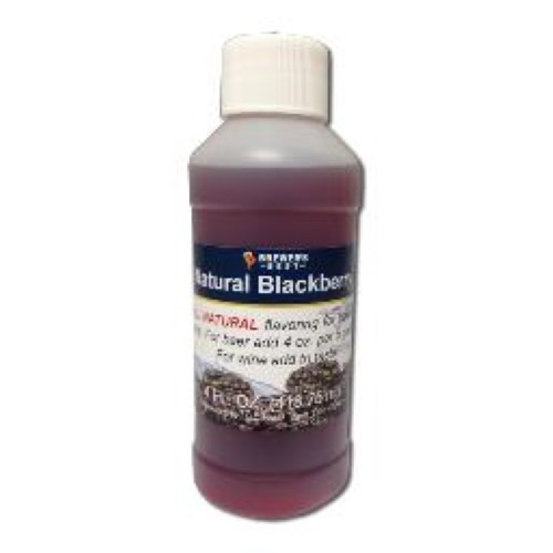 Natural Blackberry Flavoring - 4 oz