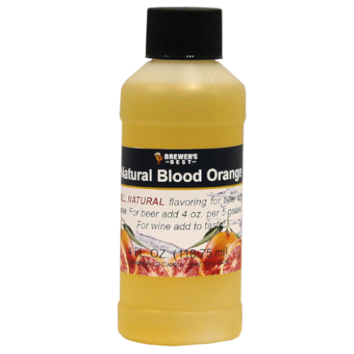 Natural Blood Orange Flavoring - 4 oz