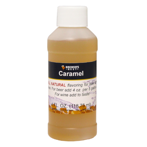 Natural Caramel Flavoring - 4 oz