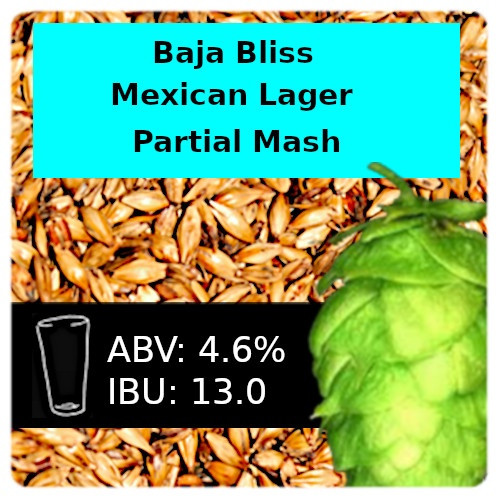 SoCo - Baja Bliss Mexican Lager - Partial Mash