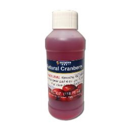 Natural Cranberry Flavoring - 4 oz